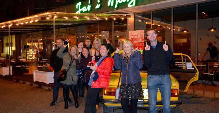 Varsóvia: Noite Privada de Degustação de Vodka com Petiscos e Pickup