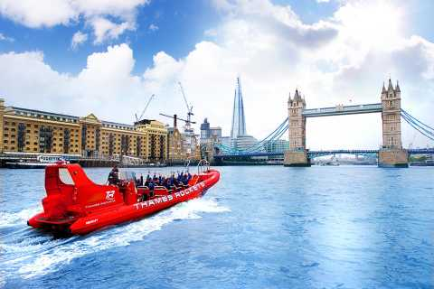London: Speed Boat Tour of the River Thames