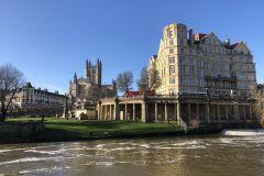 Bath: Viagem de barco de 25 minutos pela cidade até a Ponte Pulteney