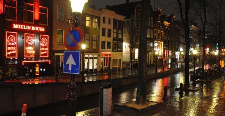 Amsterdam: Red Light District Tour met rondvaart