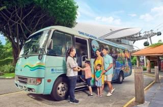 Singapur: Sentosa Island - Geführte Bustour