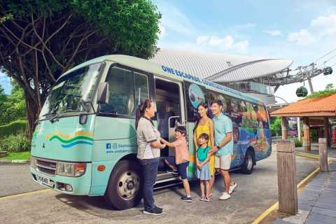 Singapore: Sentosa Island 2-Hour Guided Bus Tour