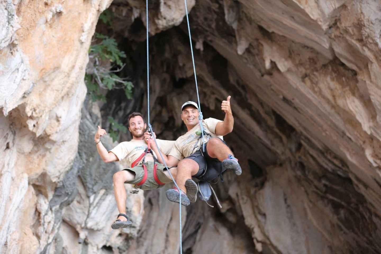 Rhodos: Kletter- & Abseiltour in der Ladiko-Bucht