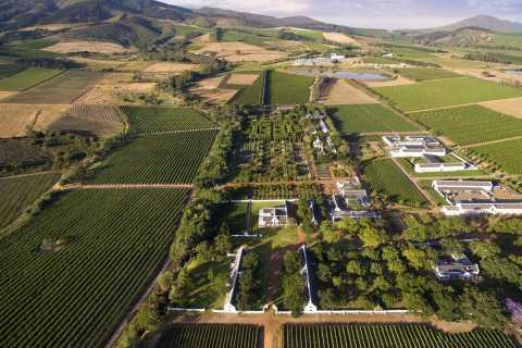 Van Kaapstad: Full-Day Cape Winelands Tour met proeverijen