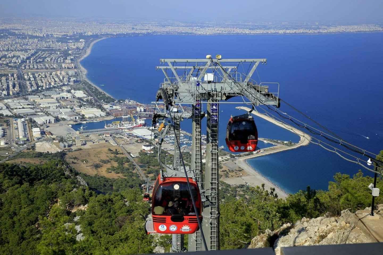 Antalya: Stadtrundfahrt inklusive Wasserfälle und Seilbahn