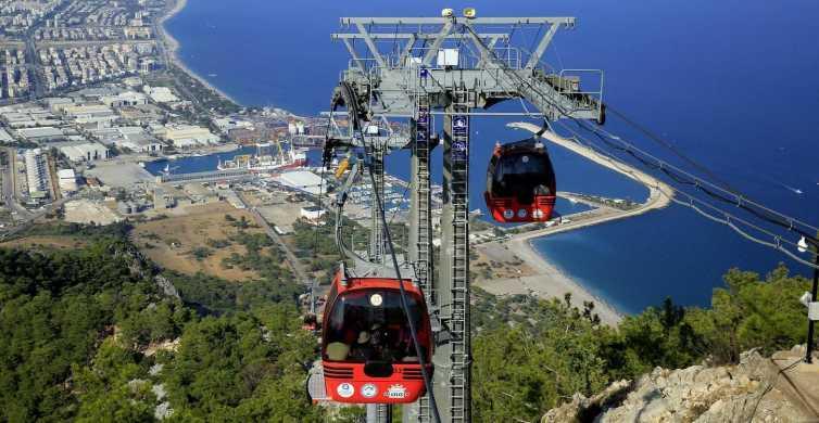 Antalya: stadstour inclusief watervallen en kabelbaan