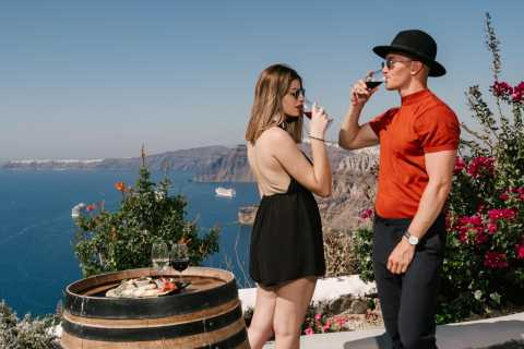 Santorini: Wine Tasting Experience with a Gourmet Meal