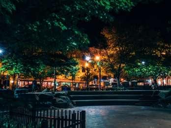 Asheville: 1-stündige Haunted Walking Ghost Tour