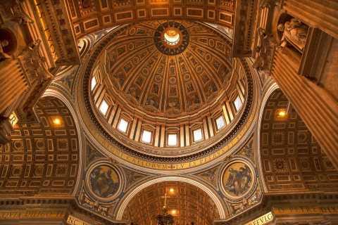 Rom: Vatikanmuseerna med Peterskyrkan och Sixtinska kapellet