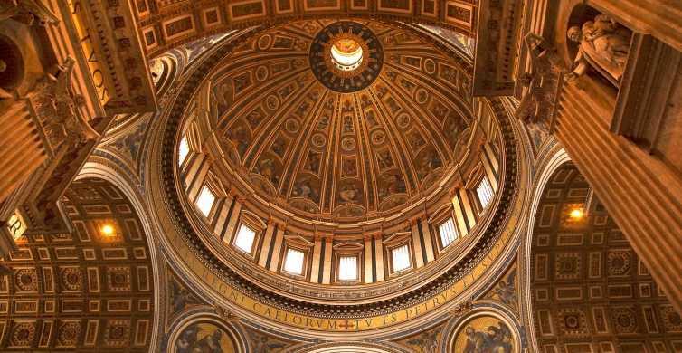 Roma: Tour del Vaticano con la Capilla Sixtina y San Pedro