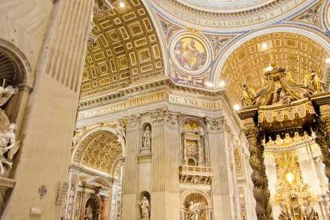 Rom på en dag: Vatikanen, Sixtinska kapellet och Colosseum