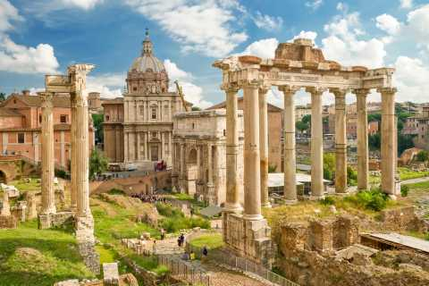 Rome: Colosseum, Forum & Palatino Fast Track Tour