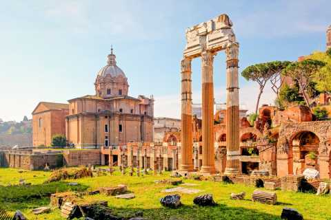 Private Tour: Colosseum, Roman Forum, and Palatine Hill