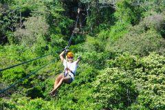 Da Cidade do Panamá: Rainforest Zipline Adventure