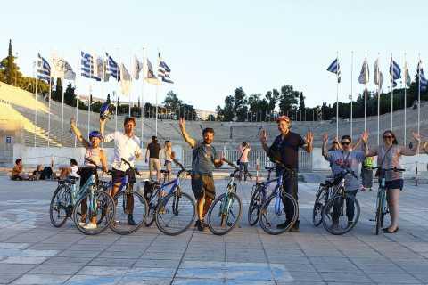 Athens: Sunset Electric Bike Tour