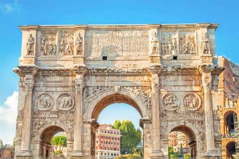 Guided Tour Imperial Rome: Colosseum, Roman Forum & Palatine