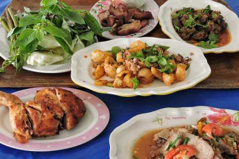 Hua Hin: visite gastronomique de 3,5 heures pour le déjeuner