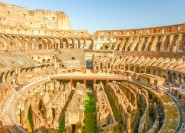 Rom: St. Clement Church Underground und Colosseum Tour