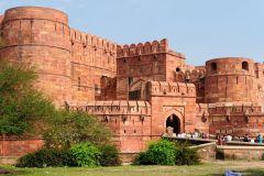 Delhi: Taj Mahal Sunrise Tour e Forte de Agra