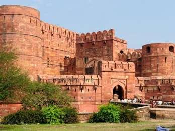 Delhi: Taj Mahal Sunrise Tour und Agra Fort