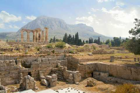 From Athens: Half-Day Private Road Trip to Ancient Corinth