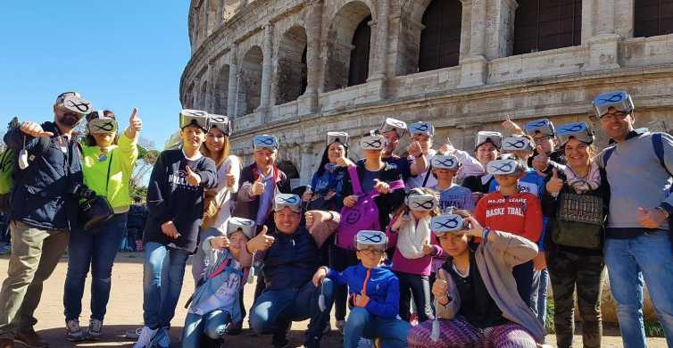 Colosseum Skip-the-Line Self-Guided Virtual Reality Tour
