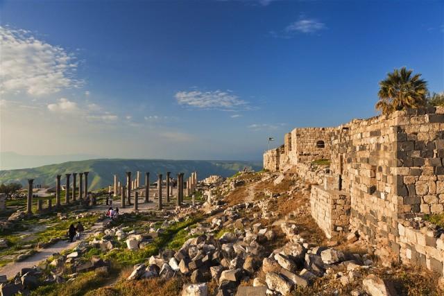 Van Amman: Jerash, Ajloun Castle & Umm Qais privétour