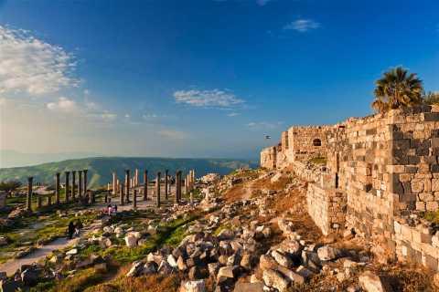 From Amman: Jerash, Ajloun Castle & Umm Qais Private Tour