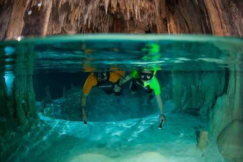 Desde Cancún/Riviera Maya: Tulum, baño con tortugas, cenotes