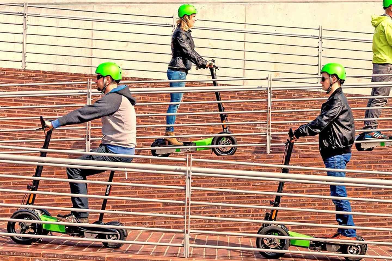 Düsseldorf: City-Tour mit einem E-Scooter