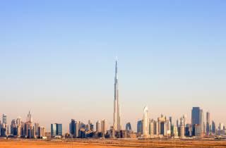 Burj Khalifa: Privatauffahrt, 5-Sterne-Küche, Transfer