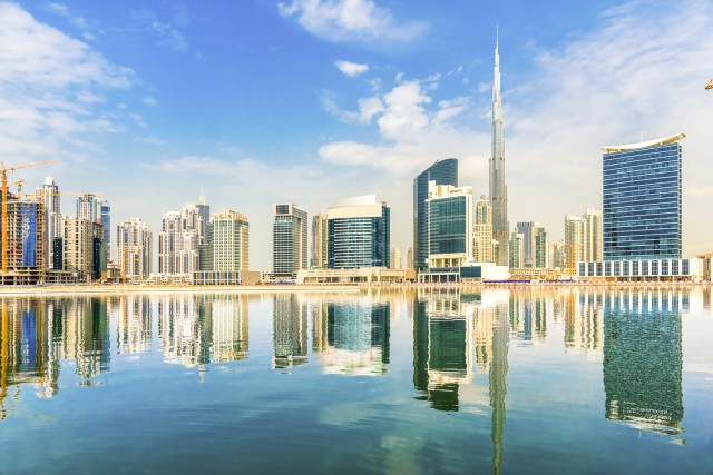 Dubai Transit City Tour With Burj Khalifa Ticket