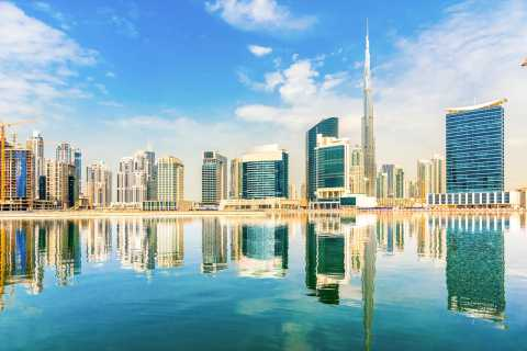 Dubai Transit City Tour With Burj Khalifa Ticket
