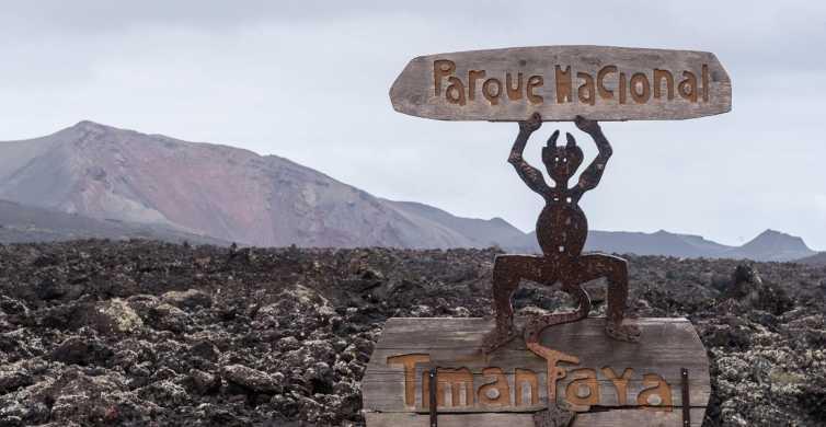 Ab Fuerteventura: Lanzarote Vulkan- und Weinregiontour