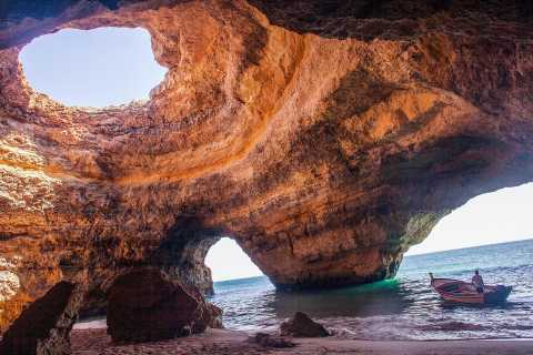 Algarve: Benagil Cave Boat Tour and Algarseco Coastal Walk