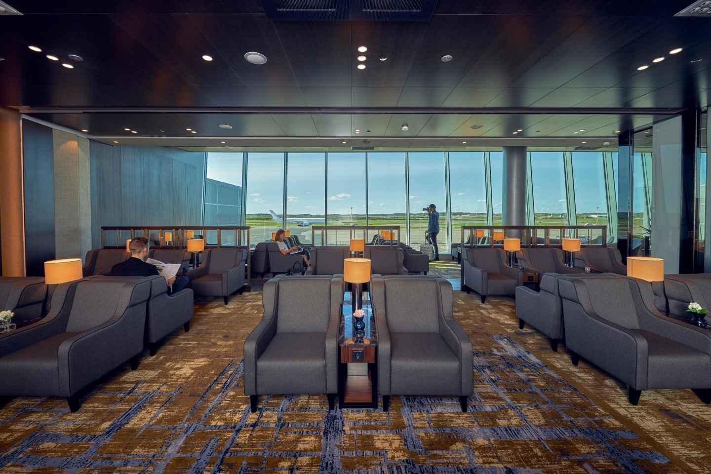 Flughafen Helsinki: Eintritt in die Premium Lounge