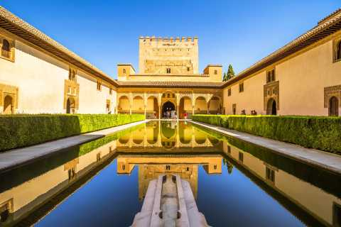 From Seville: Alhambra & Albaicín Semi-Private Tour