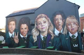 Aus Belfast: Die Derry Girls filmen Locations Coach Tour