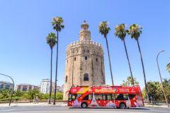 Sevilha: Bilhete Ônibus Turístico Hop-on Hop-off 24/48 Horas