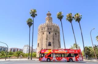 Sevilla: Hop-On/Hop-Off-Tour – 24/48-Stunden-Ticket
