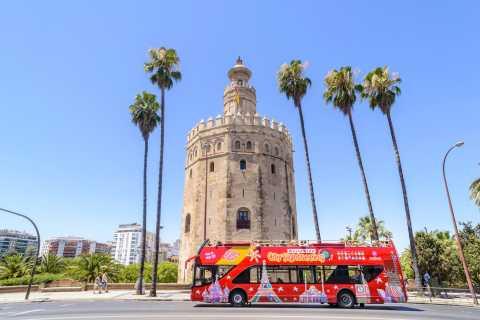 Seville: 24/48-Hour Hop-On Hop-Off Bus Ticket