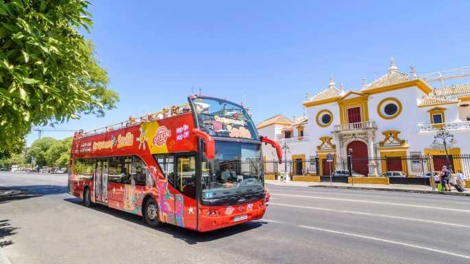 Seville: 24-Hour Hop-On Hop-Off Bus Ticket