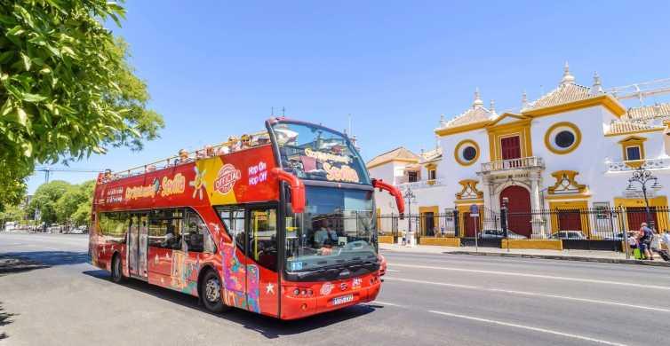 Sevilha: Bilhete Ônibus Turístico Hop-on Hop-off 24 Horas