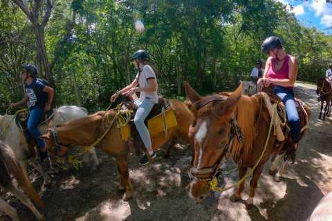 Cozumel: The Mayan Frontier By Horseback & Beach