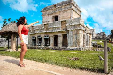 From Cozumel: Express Tour to Tulum Mayan Ruins