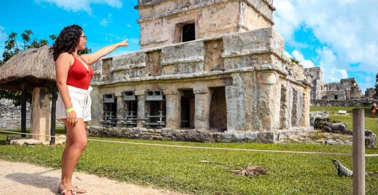 Desde Cozumel: tour expreso a las ruinas mayas de Tulum
