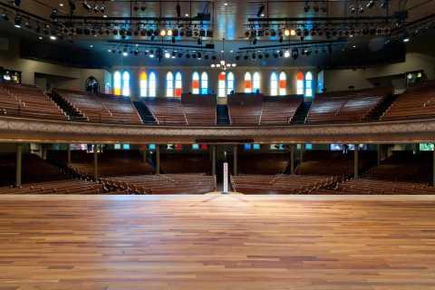 Nashville: Ryman Auditorium Self-Guided Tour