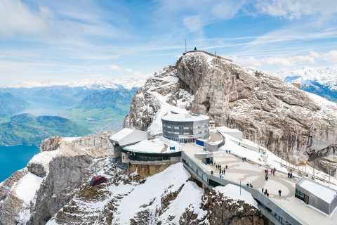 Private Reise von Zürich nach Mt. Pilatus durch Luzern