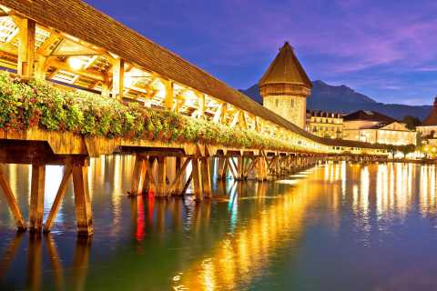 Private Trip from Zurich to Discover Lucerne City