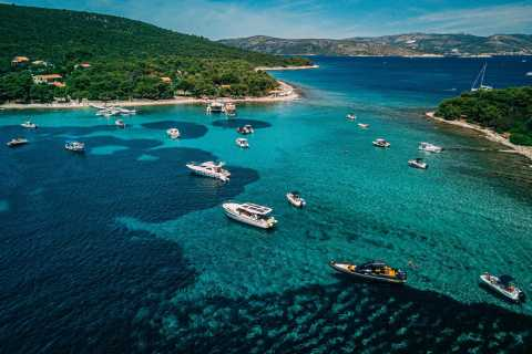 Split & Trogir: tour privato in barca con laguna e degustazione di vini blu
